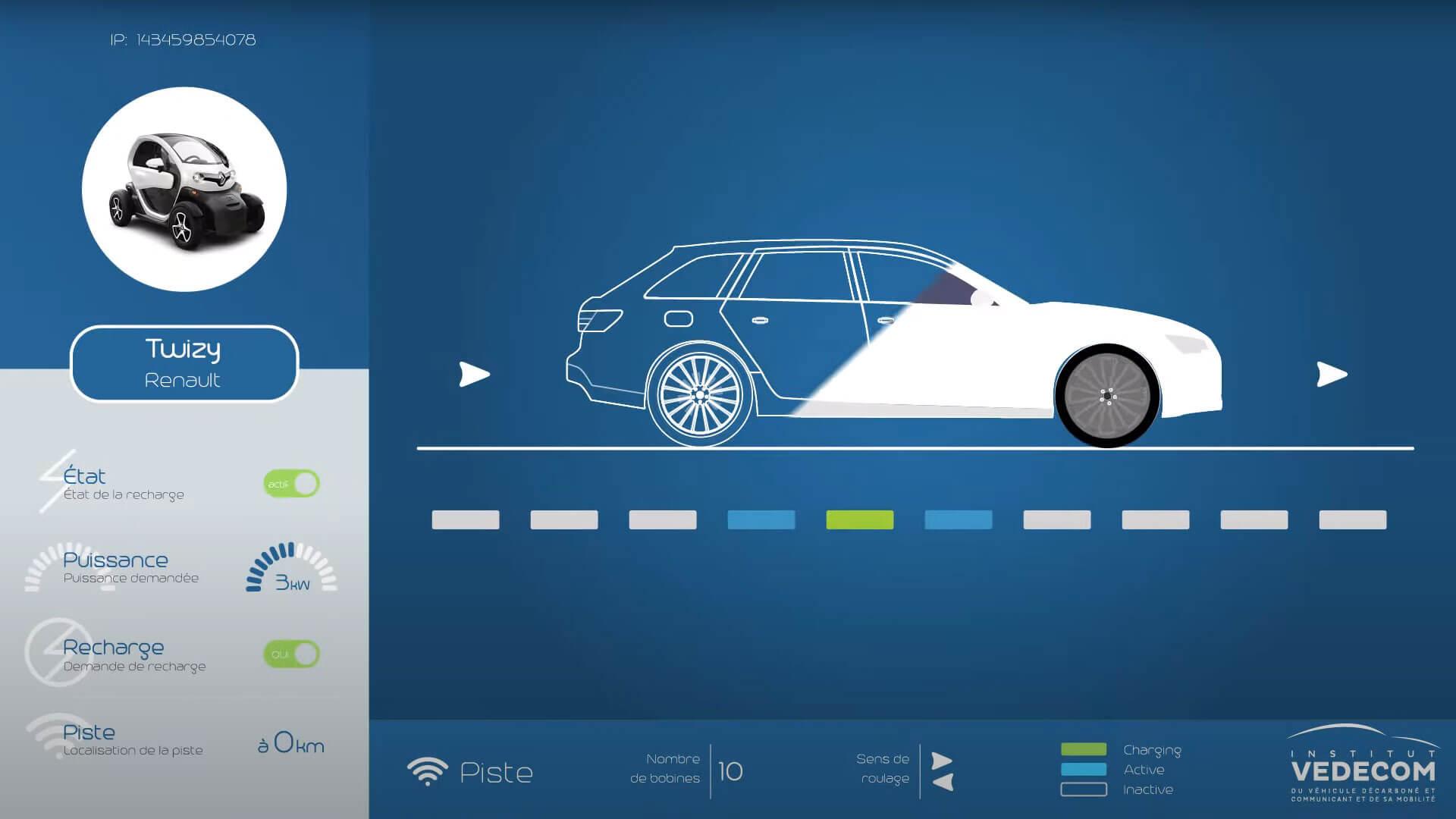 Extrait d'une vidéo sur la rechargement-dynamique voiture électrique exlpication