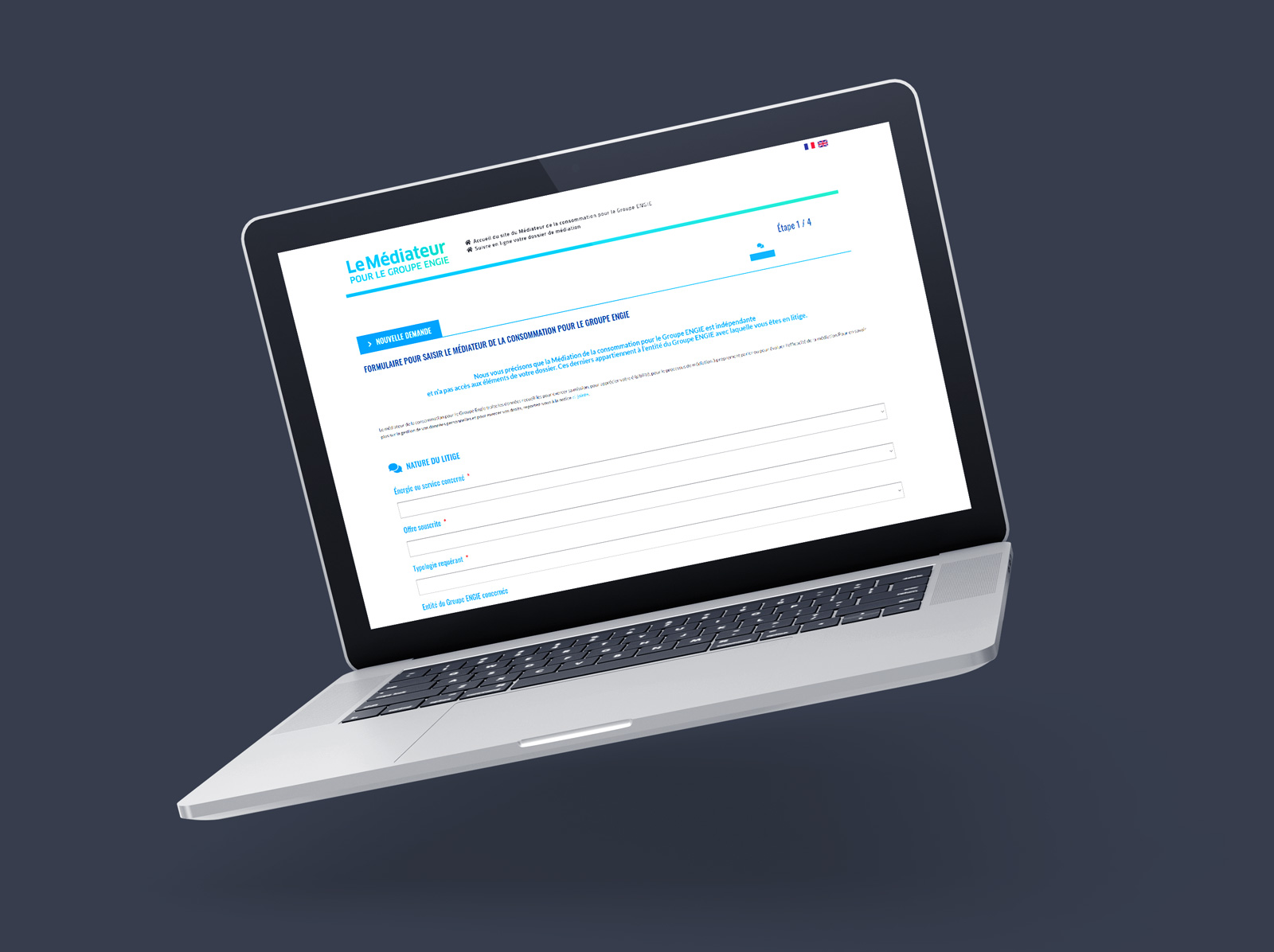 ENGIE médiateur site web