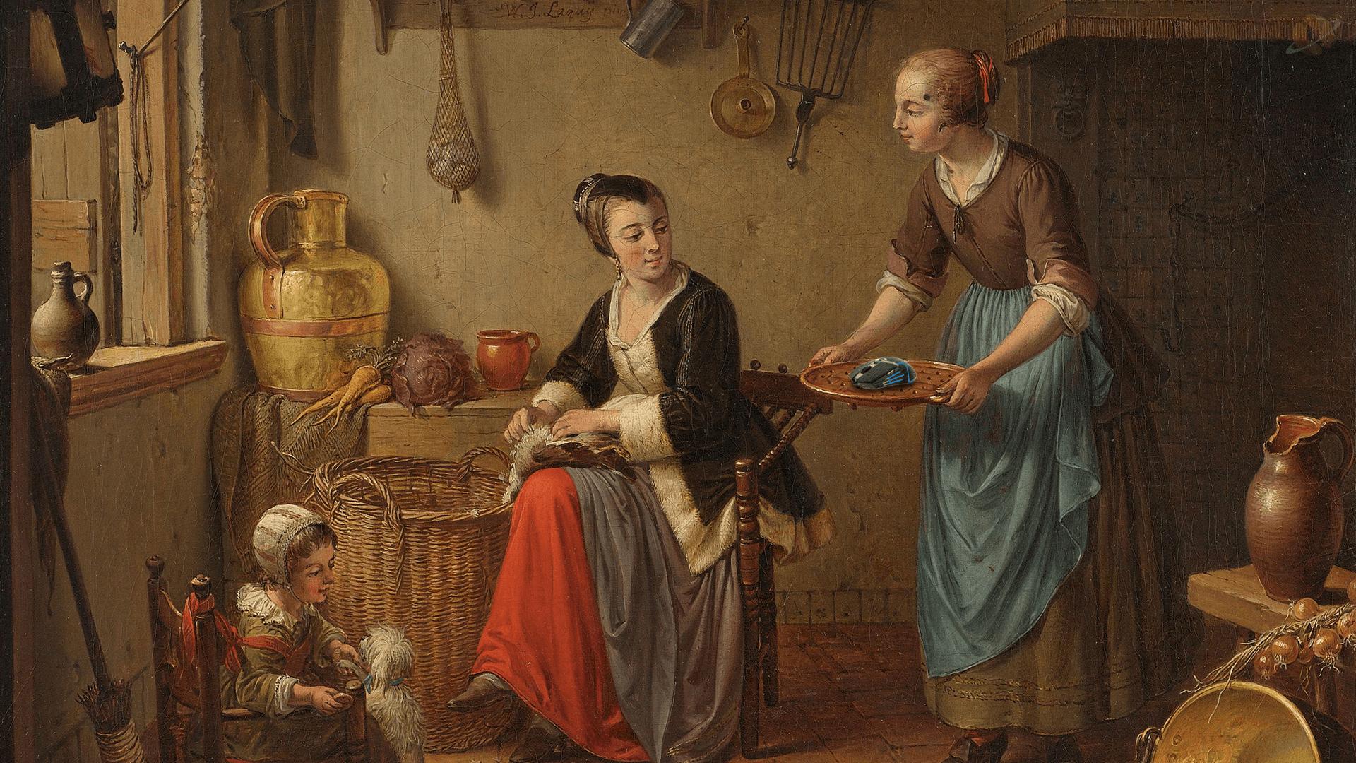 La cuisine, Willem Joseph Laquy